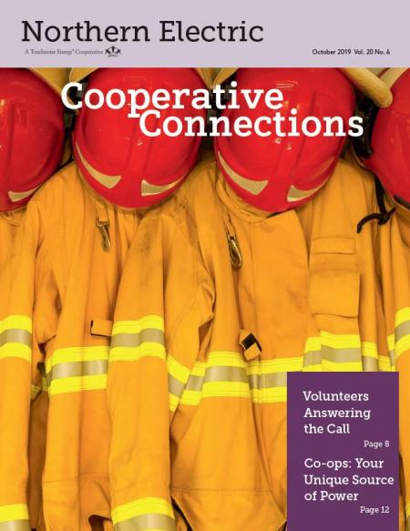 Northern Electric Cooperative Connections October 2019 Cover
